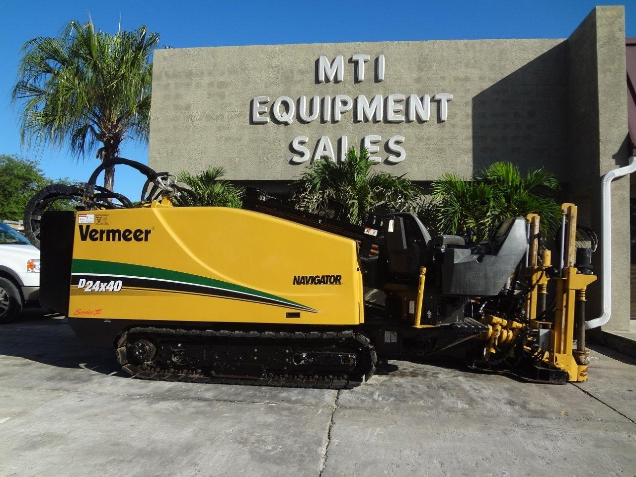 This 2010 Vermeer directional drill is available from Garner Equipment.