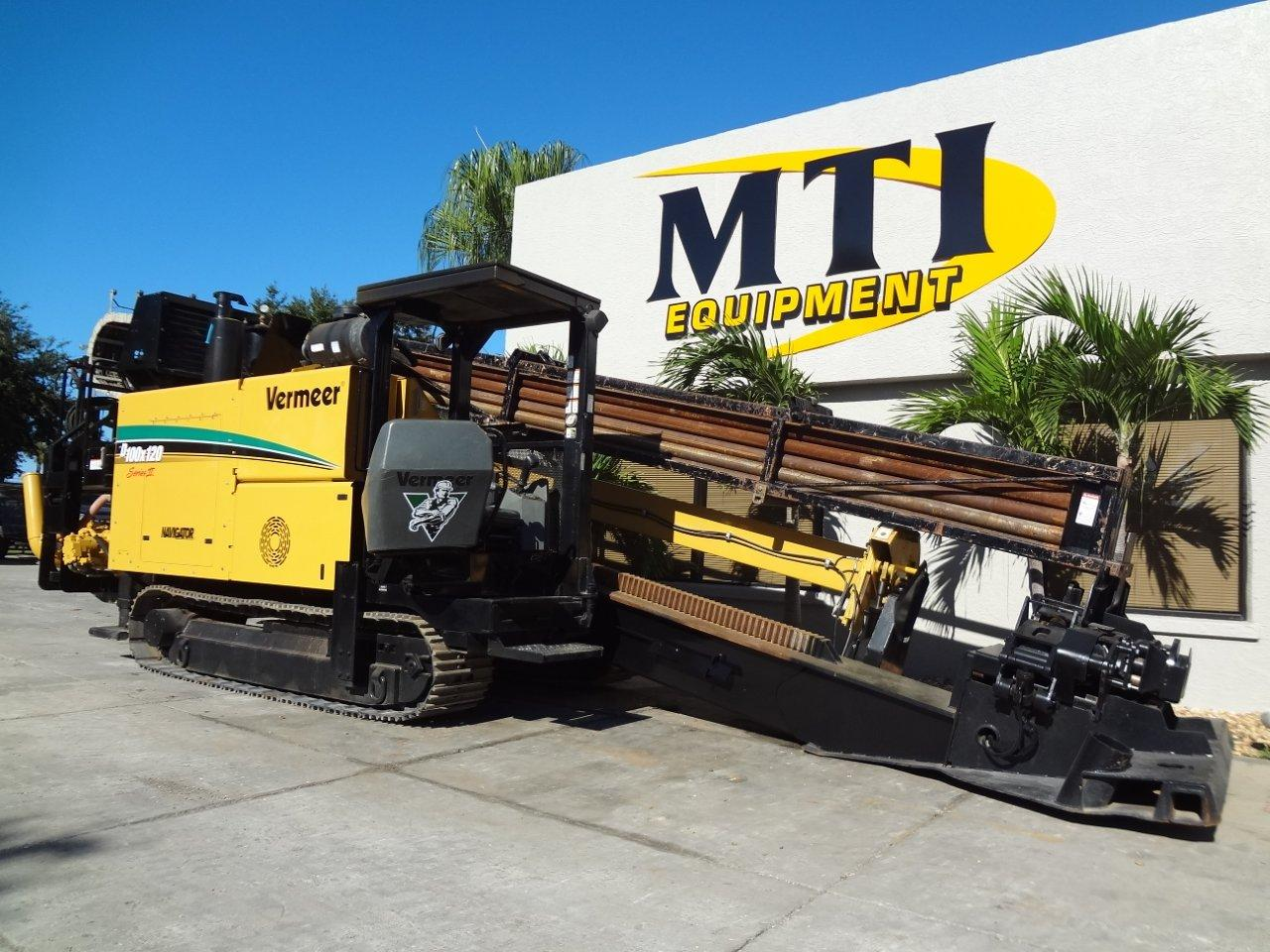 This 2006 Vermeer D100x120 Series II is available from Garner Equipment.