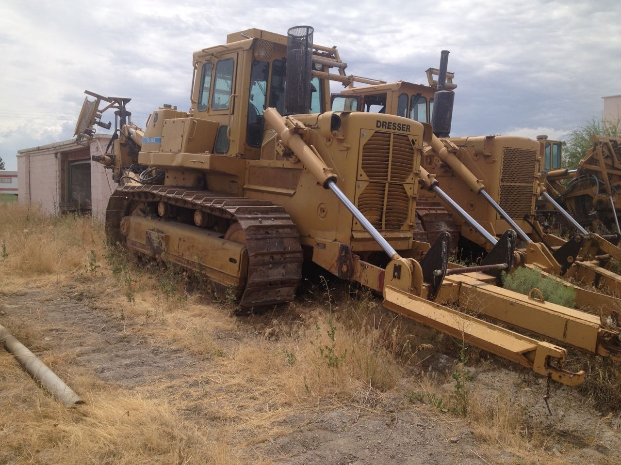 Dresser TD-25 with Bron HS-II Cable Plows, three units available from Garner Equipment