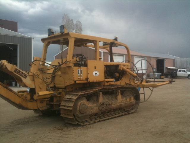 Job Ready from Garner Equipment: Cat D7G with Bron HS-I Cable Plow