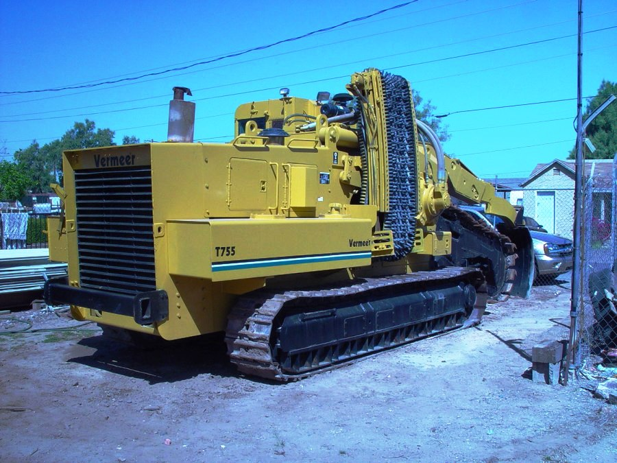 This Vermeer T-755 is available from Garner Equipment.